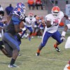 Big plays propel 'Dogs to 15-14 win