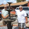 Hamption Springs: Historic fountain comes home